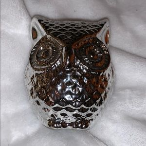 Accessories - Small Owl Piggy Bank